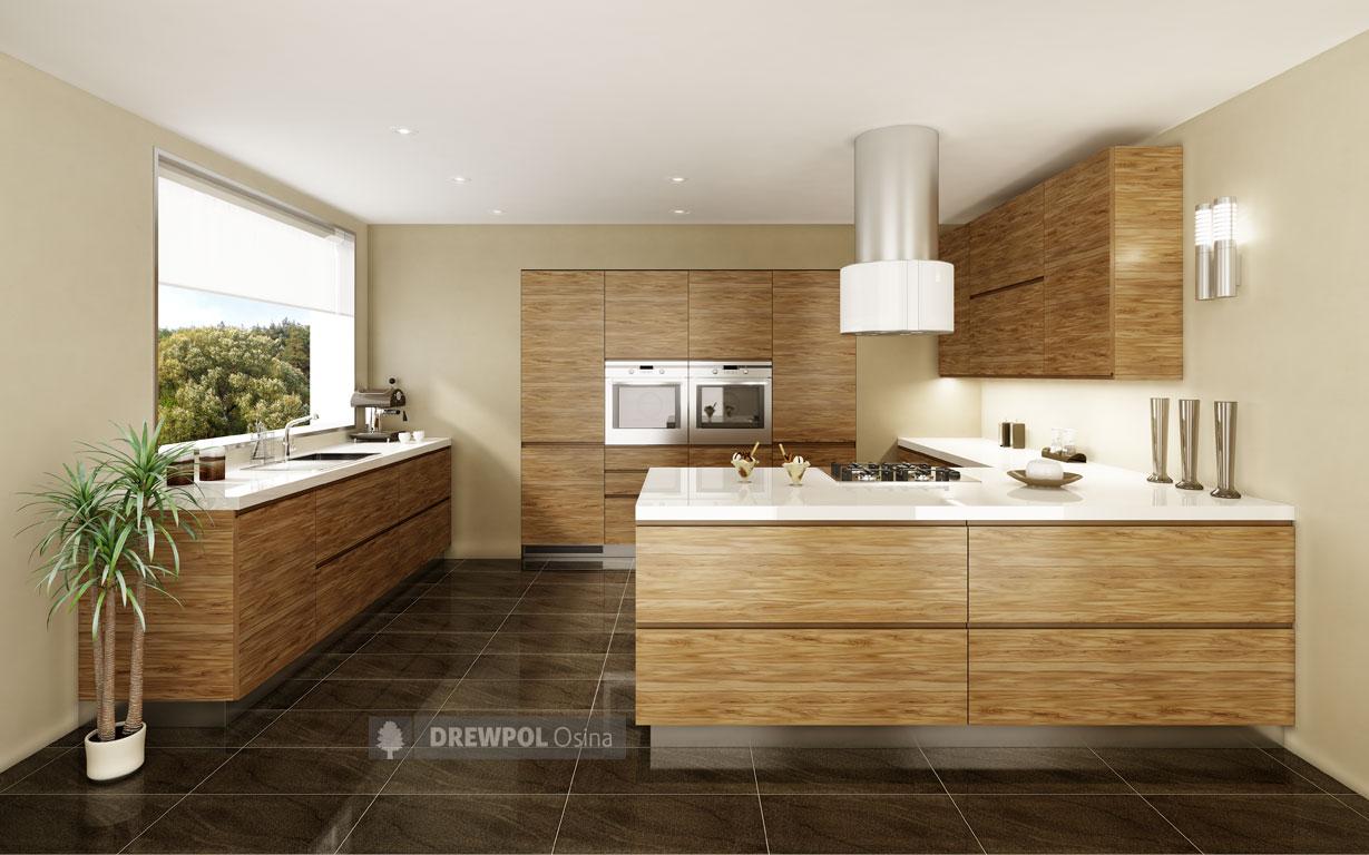 Kitchens cabinets & kitchen units – OSLO Kitchens -> Kuchnia Orzech Artemide