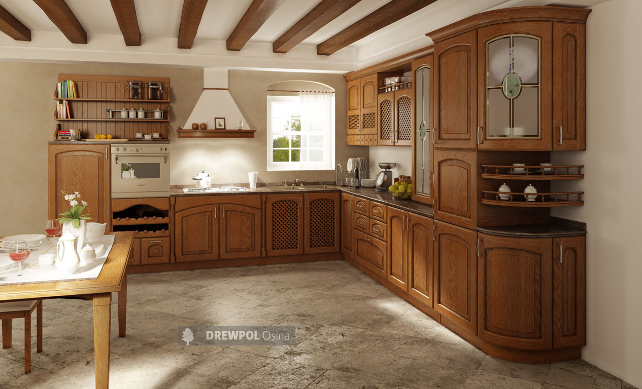 Classic kitchen units  BACH