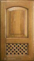 Panel and lattice door