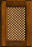 Lattice door